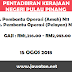 Jobs in Pentadbiran Kerajaan Negeri Pulau Pinang (15 Ogos 2018)
