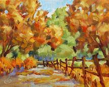 tom brown fine art autumn 8x10