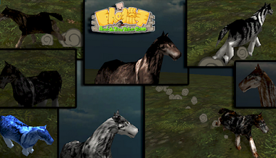 93 Wolfs Skin Types, Horse Skin AOTTG - Wolf All Color Type