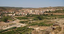 pueblo, Mazaleón, Massalió, Matarraña, Matarranya, Teruel, Aragón