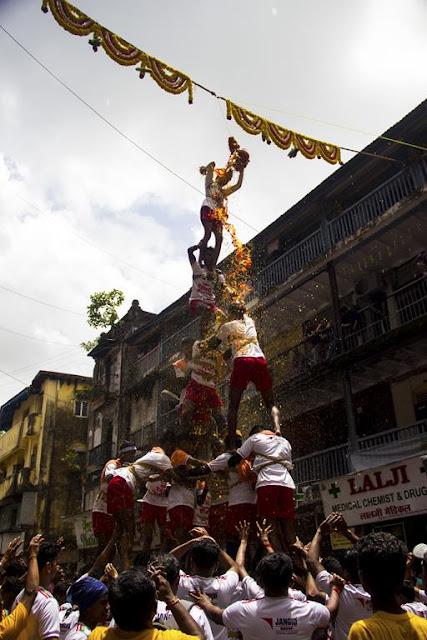 dadar, dahi handi, event, festival, janmashtami, Lord Krishna, mumbai,