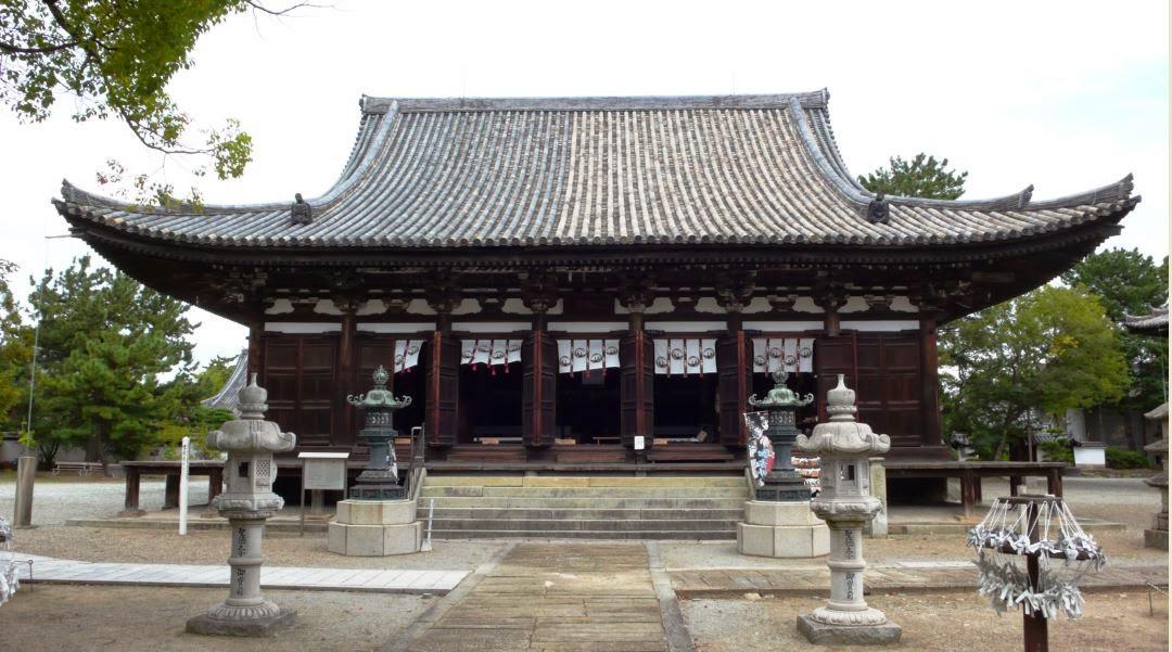 1397年)・・鶴林寺を訪ねます! 刀田山 鶴林寺・・聖徳太子が七歳の時、この地で、排仏派の難を