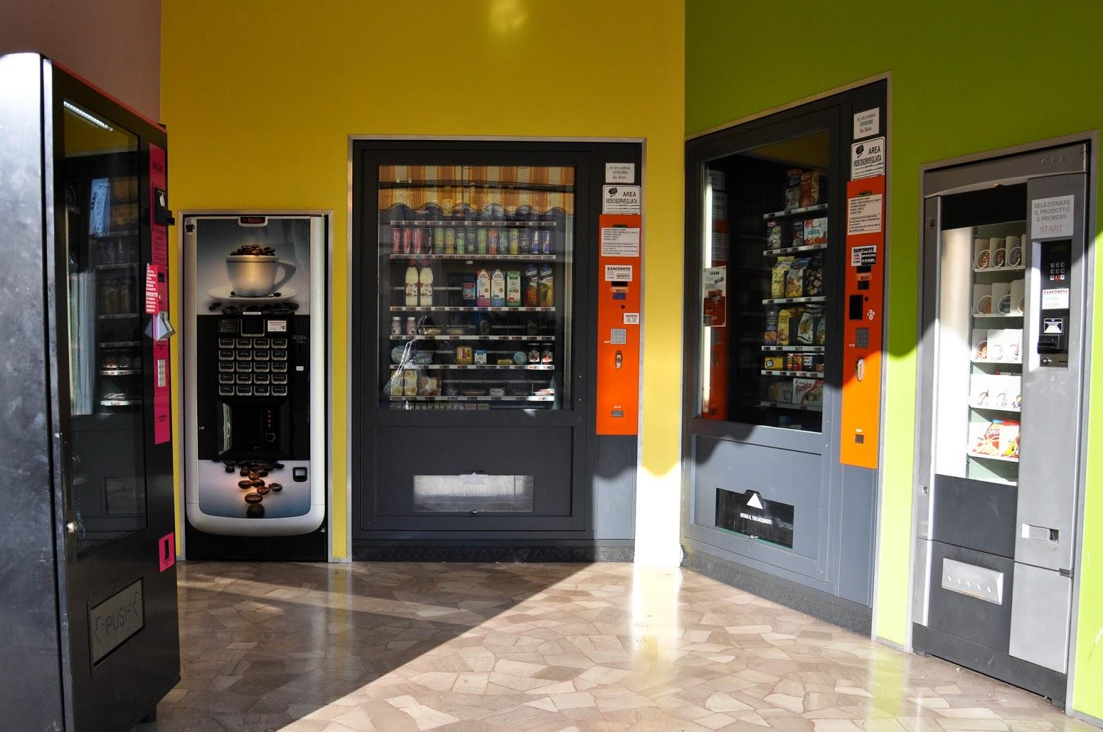 Automated shop, Vicenza, Veneto, Italy
