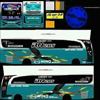 Download Livery Bus Garuda Mas