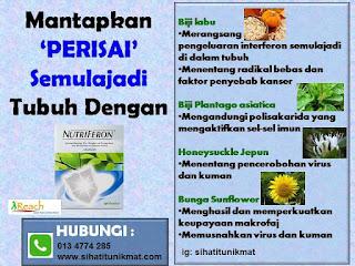 empat jenis tumbuhan dalam nutriferon