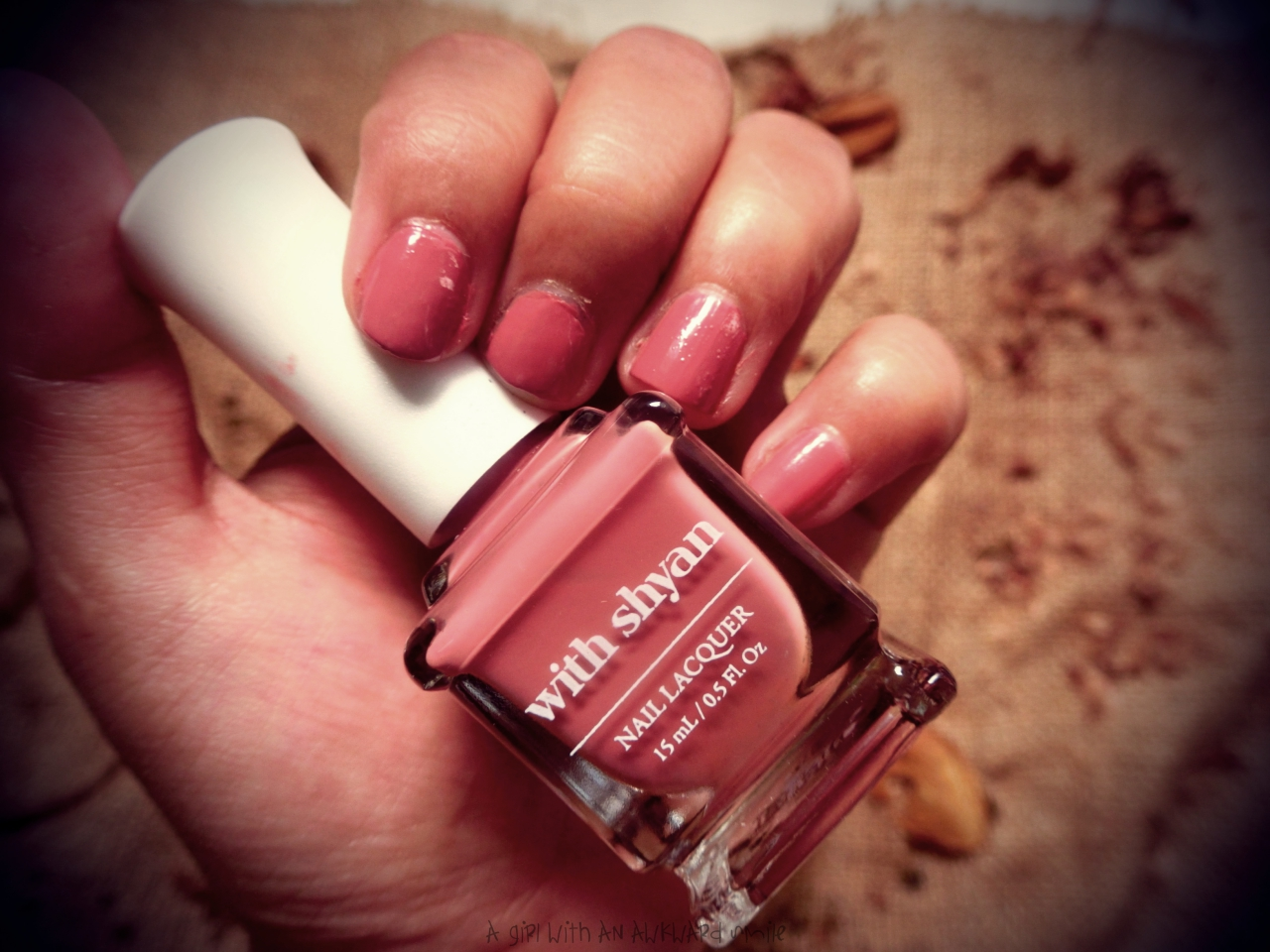 With Shyan Nail Lacquer Solid Line #Hello Autumn -Althea korea