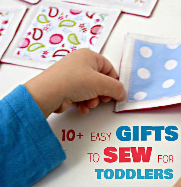 gifts to sew for toddlers, easy sewing tutorials