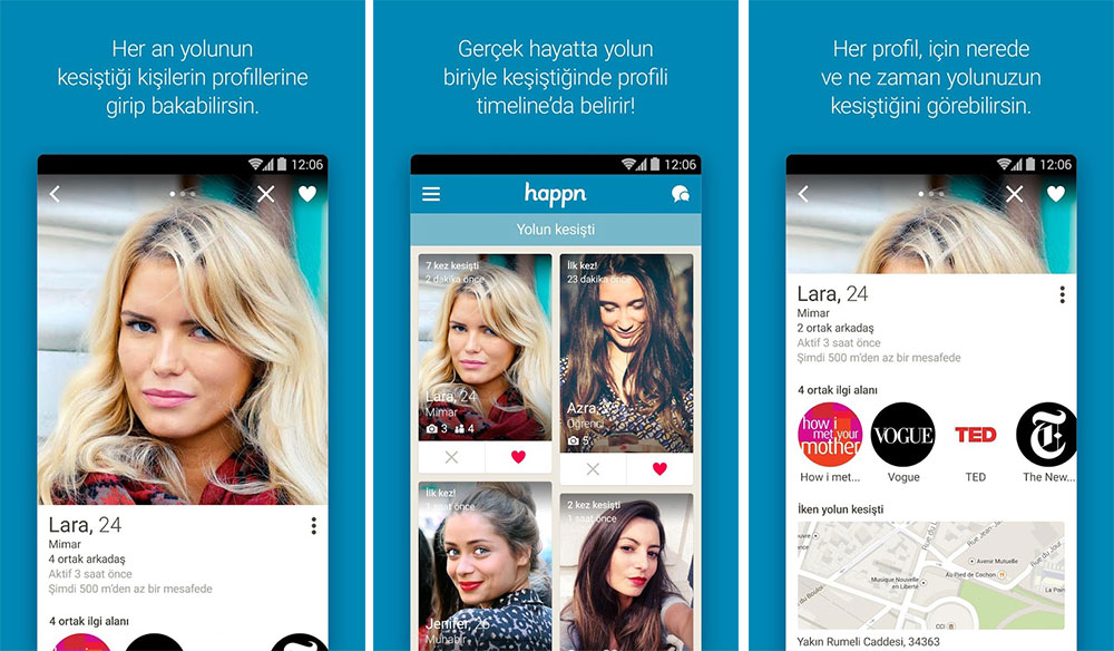 Happn android