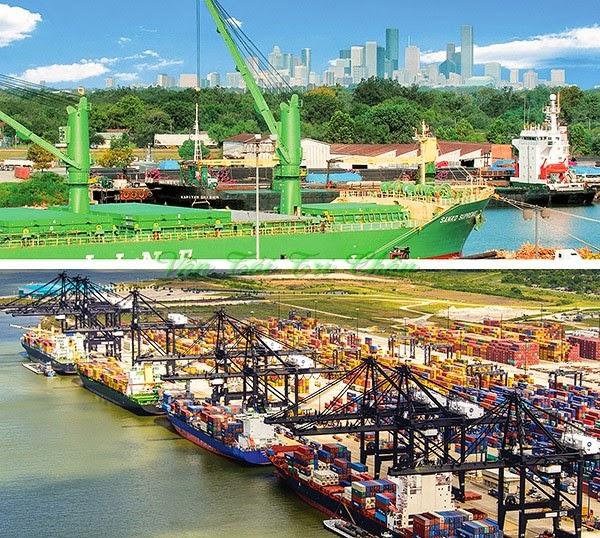 Cảng Houston Bắc Mỹ Hoa Kỳ