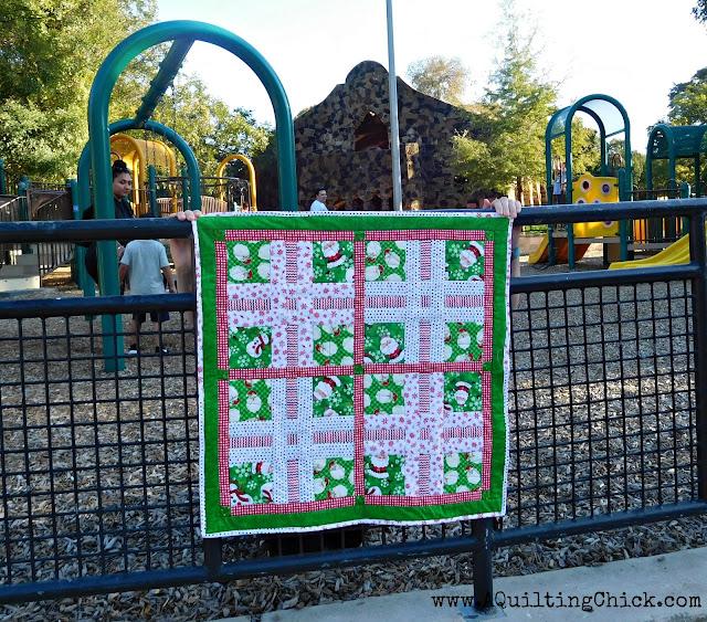 Dear Santa - Full Quilt - Full Playground