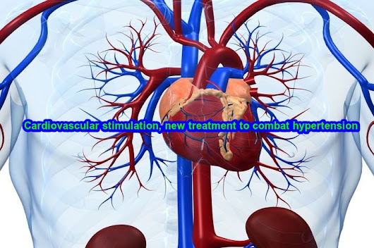 Cardiovascular stimulation, new treatment to combat hypertension