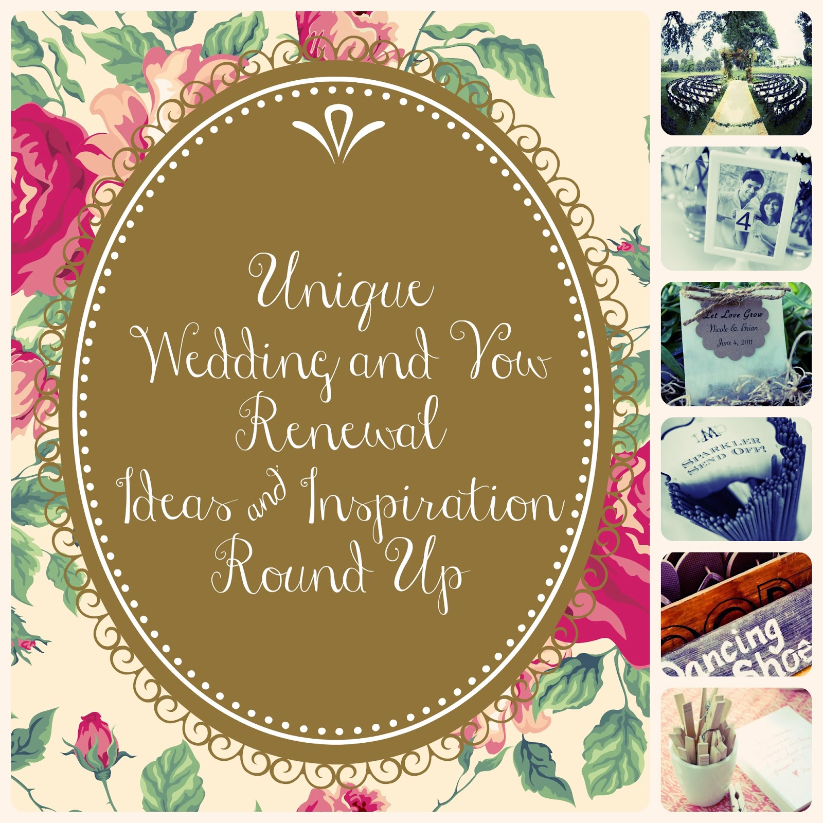 Unique Wedding & Vow Renewal Ideas Round Up - This Girl's ...