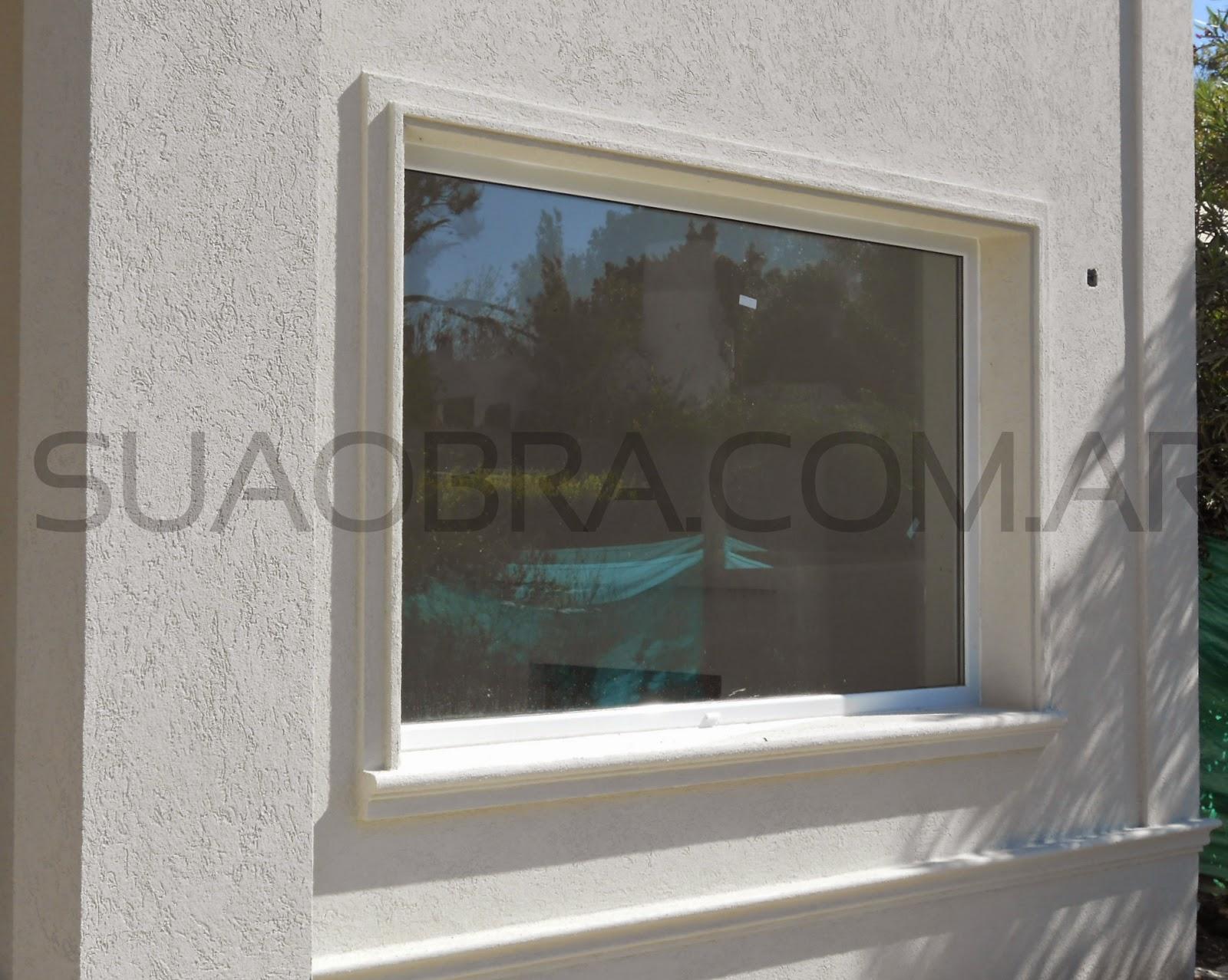 Revestimiento de paredes exteriores tarquini aplicacion - Molduras para exteriores ...