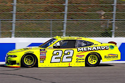Brad Keselowski piloted the No. 22 Menards Ford Mustang to its fourth pole and marked the eighth overall Ford Performance NXS pole for the season.