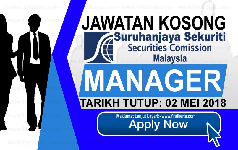 Jawatan Kerja Kosong SC - Suruhanjaya Sekuriti Malaysia logo www.findkerja.com mei 2018