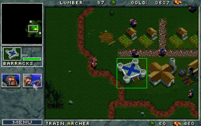Warcraft 1 Archers Screenshot