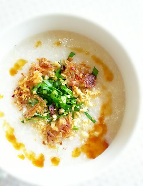 resepi bubur nasi chinese style noxxa