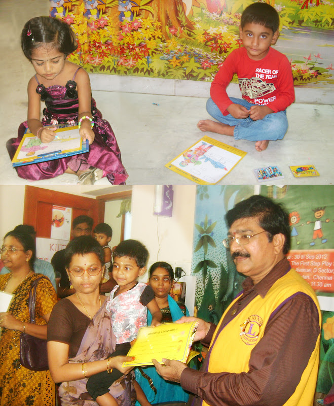 Anna Nagar Daily: Colouring Competition For Children
