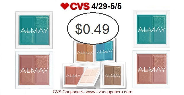 http://www.cvscouponers.com/2018/04/hot-almay-eyeshadow-only-049-at-cvs-429.html
