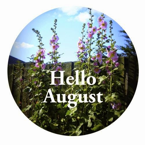 Hello August, lovely photo about summer flowers