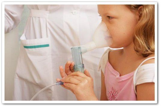 dosed inhaler and mask