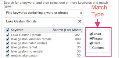 choose right keyword for your campaign