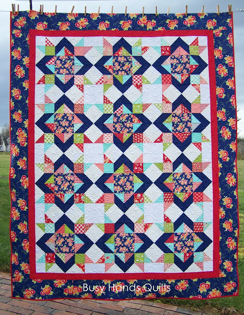 Diamond Dance Quilt Pattern by Myra Barnes