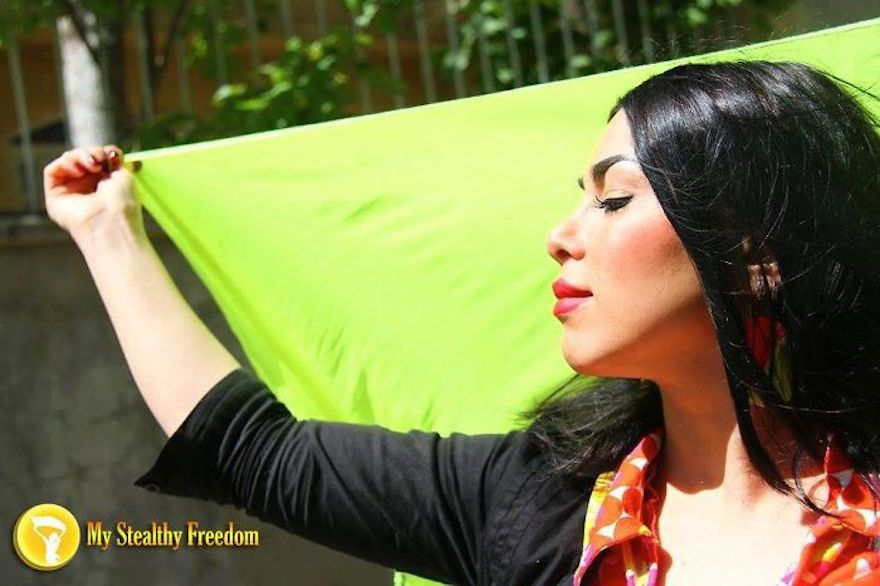 "Iranian Women Are Posting Pics With Their Hair Flying Free In Protest Of Strict Hijab Laws - ""Hoping for the ultimate freedom of Iranian women."""