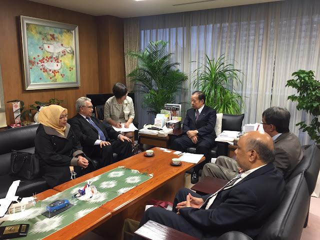 Gubernur Tawarkan Kerjasama Investasi Aceh - Jepang