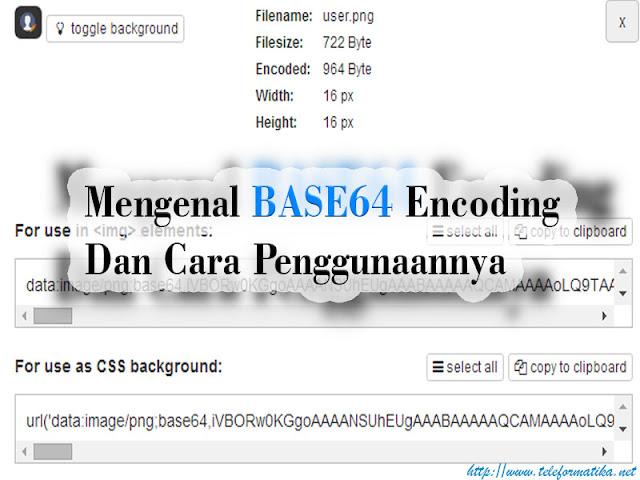 Mengenal Base64 Encoding Dan Cara Penggunaannya