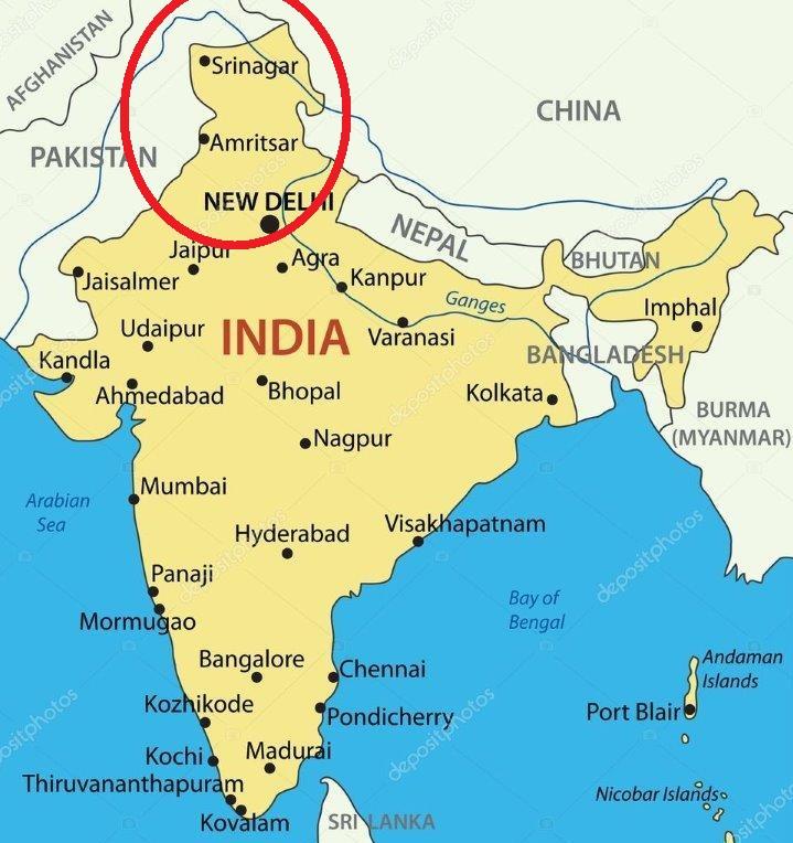 India Stan Border Map on india henna map, india base map, india and pakistan border dispute, india green map, india wall map, india landscape map, india center map, india watershed map, india caste system map, india travel map, india boundary map, india bangladesh border, india world heritage sites map, india border art, india solid map, india floral designs, india clear map, india city map, bangladesh map, india london map,