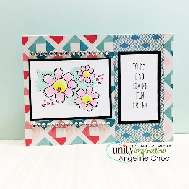 ScrappyScrappy: Loving Daisies Friend #scrappyscrappy #unitystampco #sotw #card #mothersday
