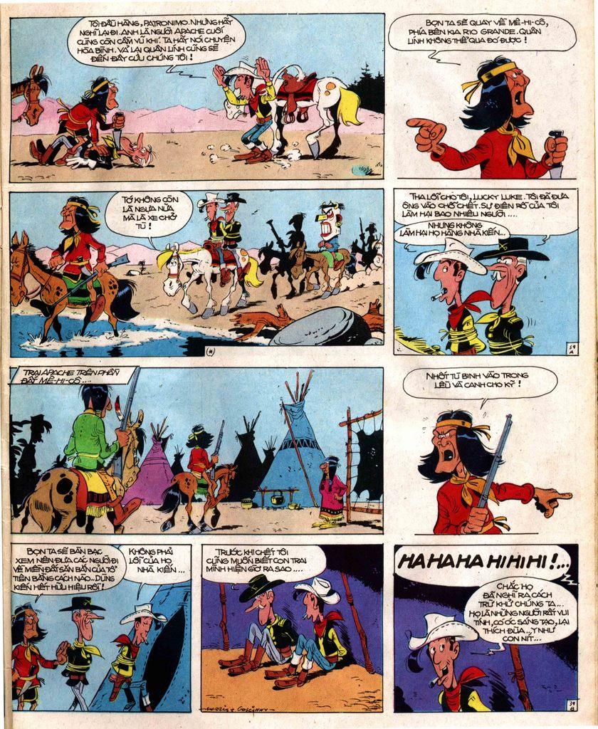 Lucky Luke tap 12 - khe vuc apache trang 39