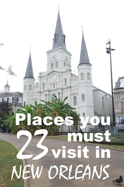 23 of the best places to go in new orleans adventures of for Must do things in new orleans