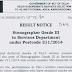 DSSSB Steno Grade III Result Notice