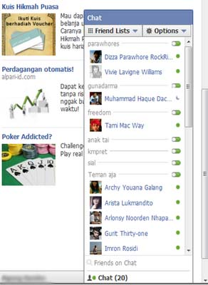 Cara Mengembalikan Chat Facebook Ke Versi Lama