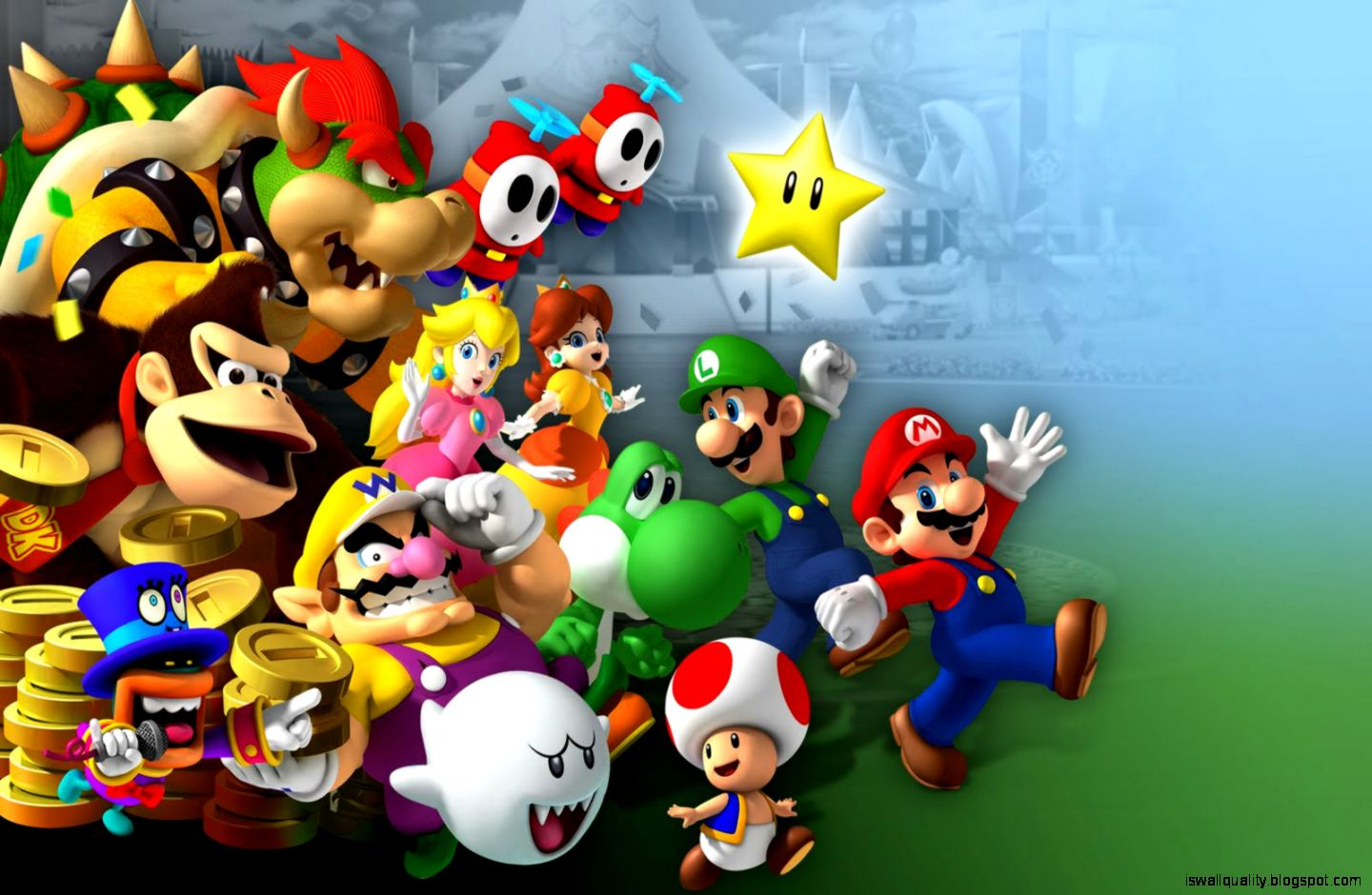 Best Hd Super Mario Wallpaper Wallpapers Quality