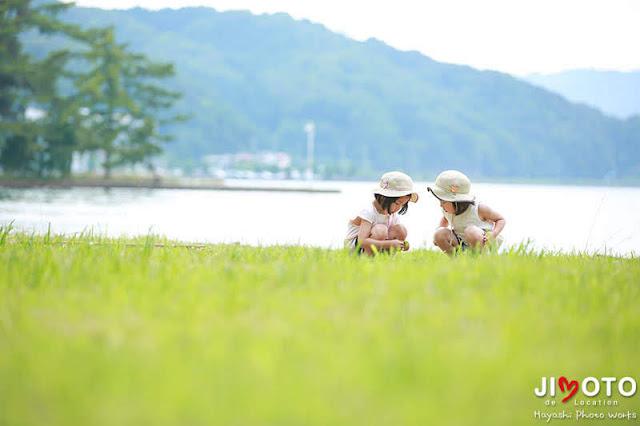 京都府宮津市で家族写真をロケーション撮影