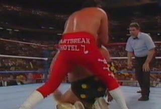 WWF / WWE Summerslam 1989 - The Honky Tonk Man dominates the American Dream Dusty Rhodes