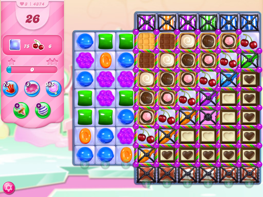 Candy Crush Saga level 4374