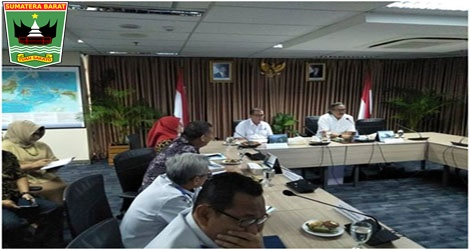 Wagub Nasrul Abit: Infrastruktur Dan Pembentukan Kawasan Ekonomi Khusus (KEK) Parawisata Provinsi Sumbar  Di Dalam Rangka Rapat Percepatan Pembangunan