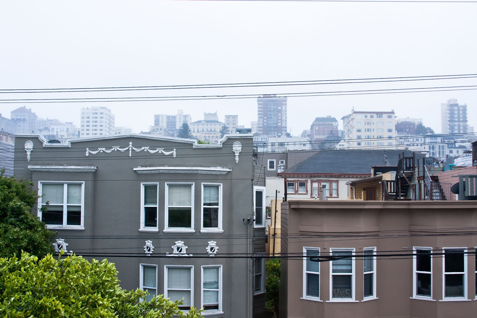 The view from our Cow Hollow home.