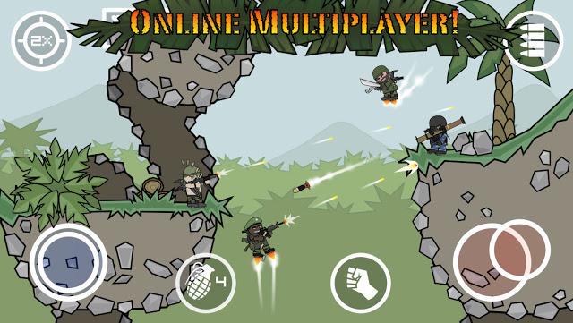 تحميل لعبة Doodle Army 2 مهكرة كاملة للاندرويد