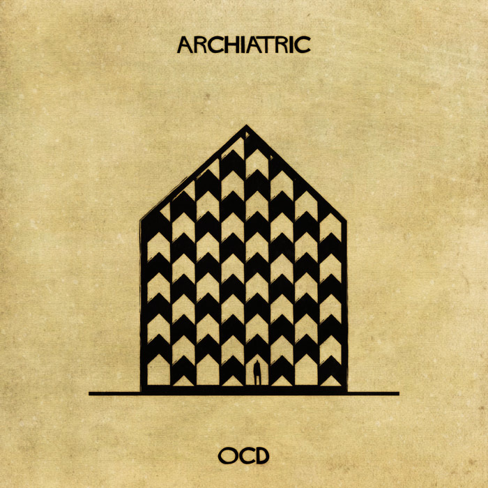 16 Mental Disorders Illustrated Through Architecture - Ocd