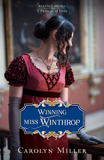 Book Cover: Winning Miss Winthrop by Carolyn Miller