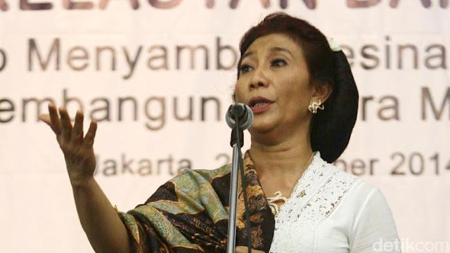 Menteri Susi: Pasokan Ikan Laut China & Thailand Tergantung Laut Indonesia