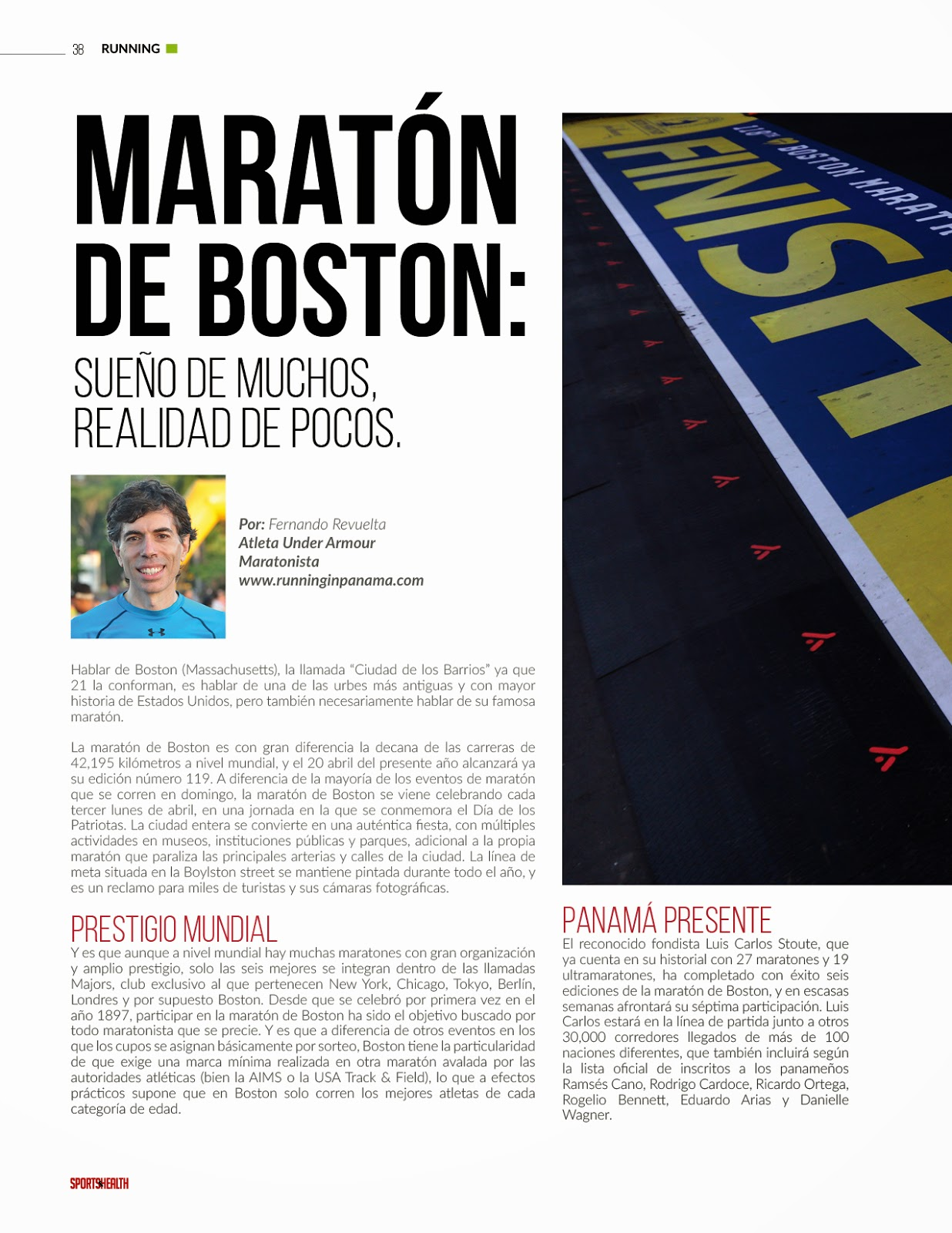 Maratón de Boston 2015