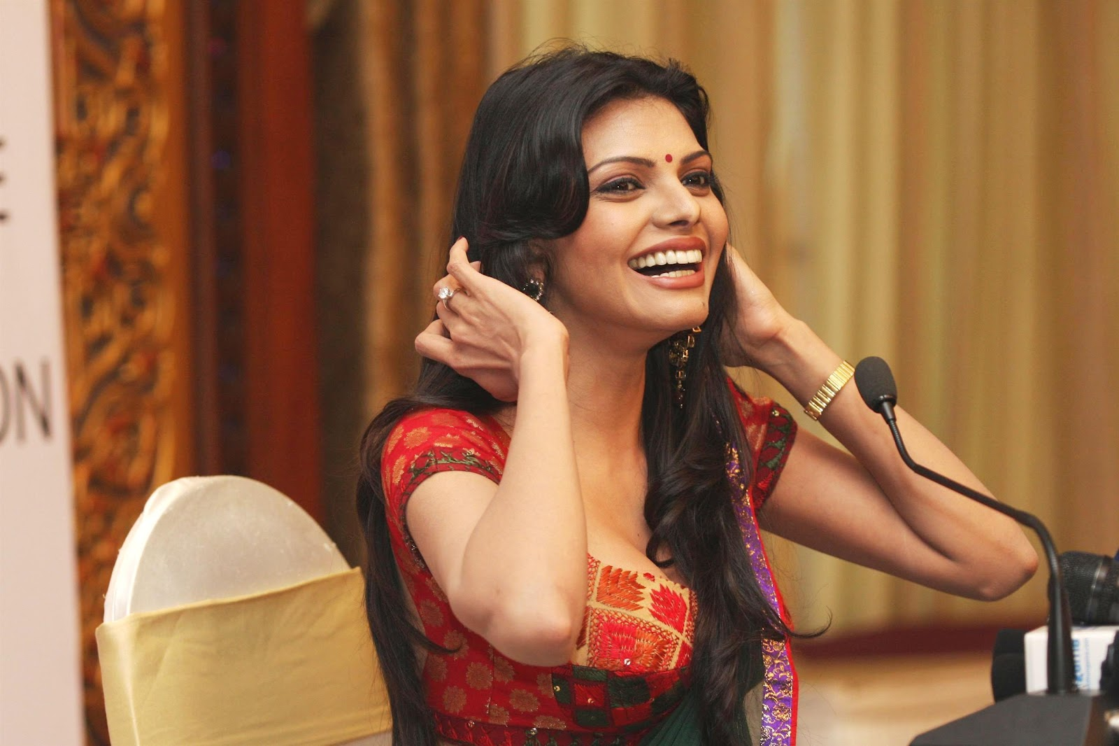 High Quality Bollywood Celebrity Pictures Sherlyn Chopra -8094