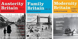 David Kynaston histories of post-war Britain