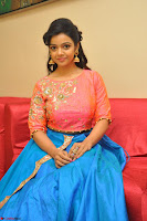 Nithya Shetty in Orange Choli at Kalamandir Foundation 7th anniversary Celebrations ~  Actress Galleries 088.JPG